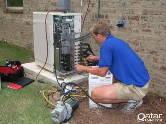 A/C Selling and Fixing A/C Servicing A/C Gass Filling and cleaning  call=66104767