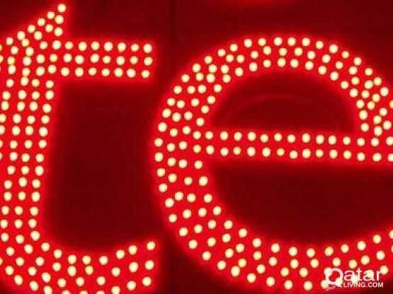 LED Pixel Sign boards