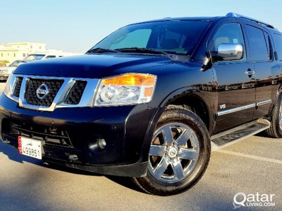 Nissan Armada LE 2012