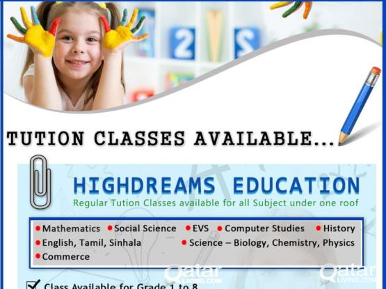 Tution Classes for All Grades