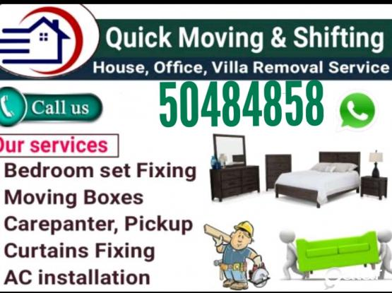 Suitable price for Moving and shifting 50484858