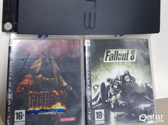 Sony ps3,Controller 2 and 2 games  in good condition, for sale l