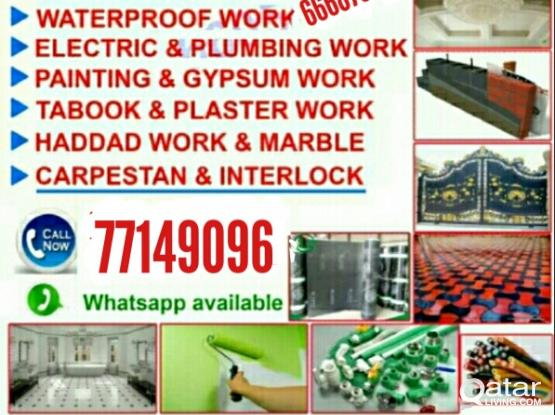 All maintainance works Call 77149096