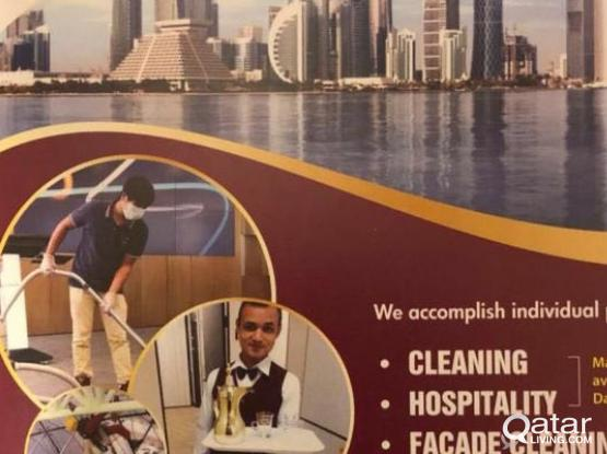 For any kind of hospitality cleaning requirement