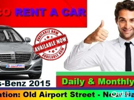 Mercedes-Benz  Available For Rent.  !! Call Now : 44663933/33131241(Loc. : Matar Qadeem)