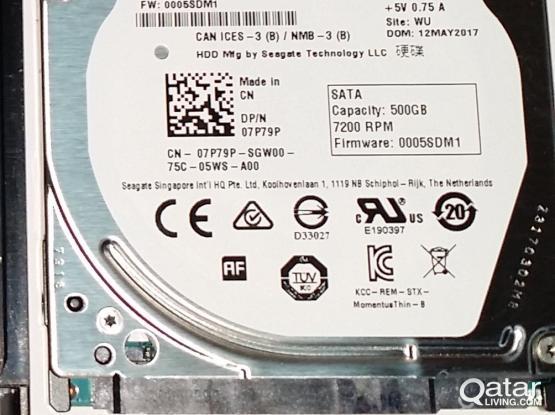 """Seagate SATA 2.5"""" 7200 RPM Hard Drive 500GB"""