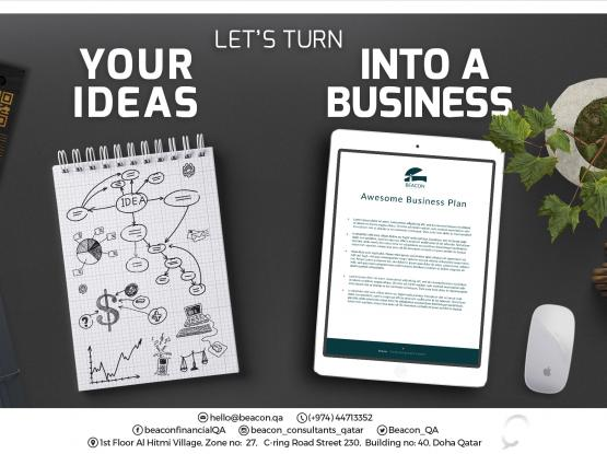 Let Us Turn Your Ideas Into A Business