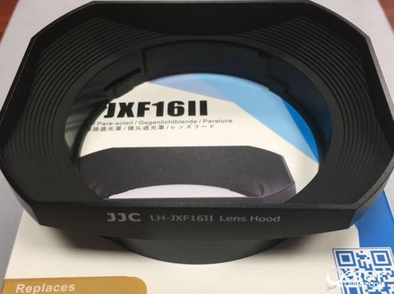 JJC LH-JXF16II Lens Square Hood (NEW) for Fujifilm XF 16mm f1.4