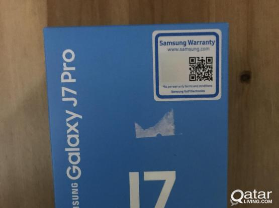 Samsung J7 pro 32Gb New Phone with box (sealed one
