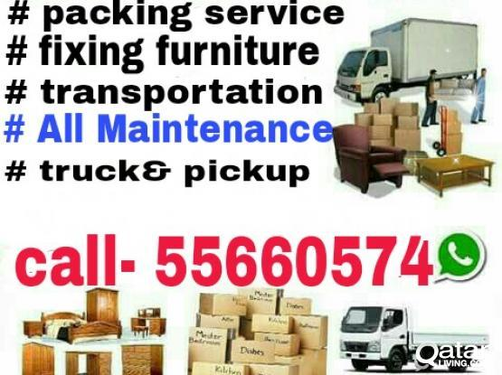 BEST PRICE MOVING AND SHIFTING  SERVICE ANYTIME ALL OF QATAR  55660574