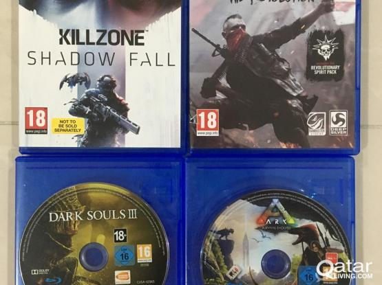 Video Games for Playstation 4 PS4