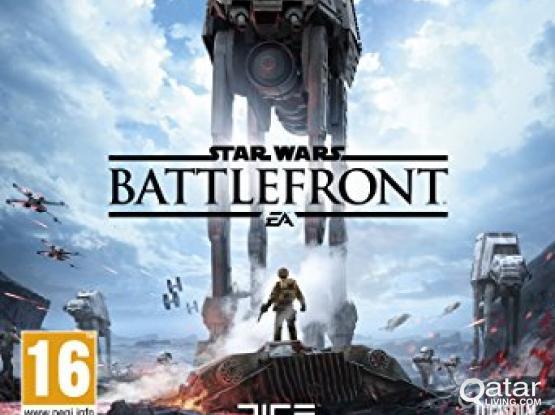 PS4 game Star Wars Battlefront