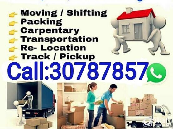 "Best price""Moving Shifting Packing Transportation Relocation Carpentry Service""""30787857"