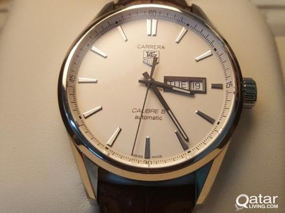 For Sale Tag Heuer Carrerabrown alligator