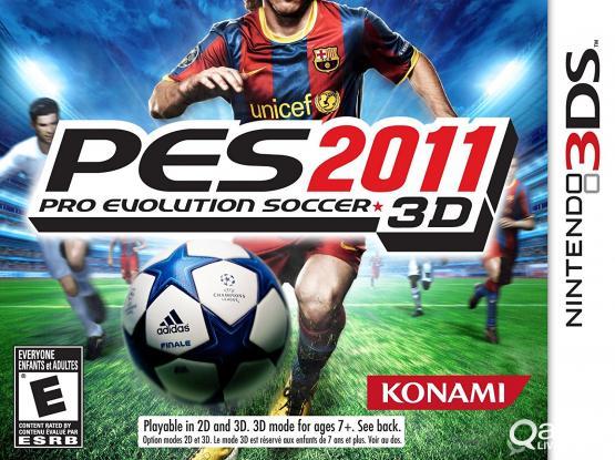 Nintendo 3DS PES 2011 3D