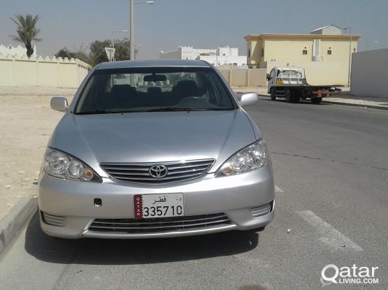 TOYOTA CAMRY 2006 MODEL EXCELENTT CONDITION