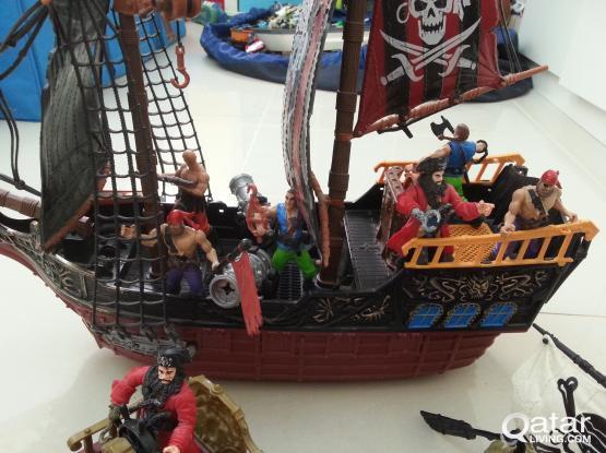 "Pirates collection ""ahoy me maties"""