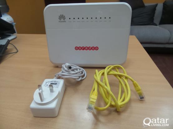 Ooredoo Huawei home gateway Wi-Fi modem for sale..