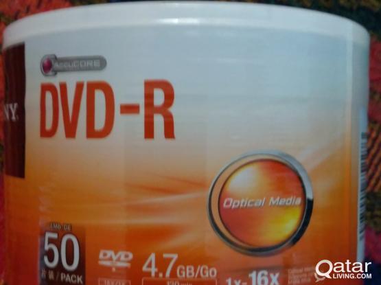 Original Sony DVD - 50 pack unopened
