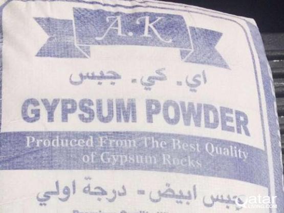 Gypsum powder bags for sale