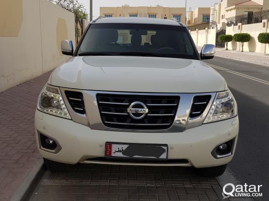 Nissan patrol 2015 SE T2 for sale 61500km only