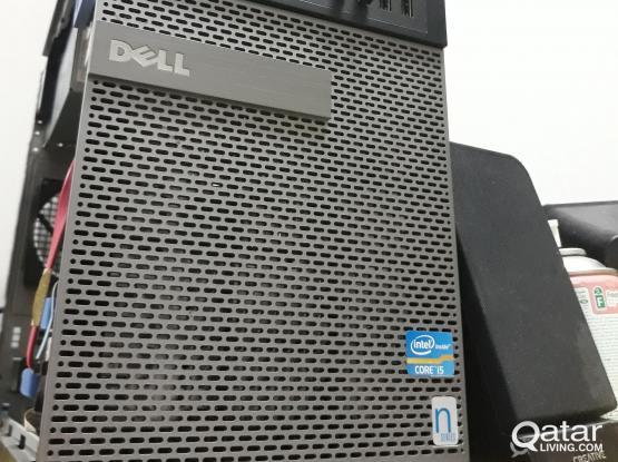 Dell core i5 Desktop 4gb ram 500gb HDD