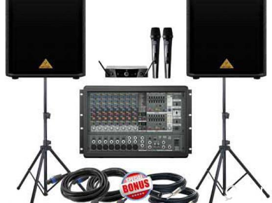 LIGHT AND SOUND SYSTEM FOR RENT..