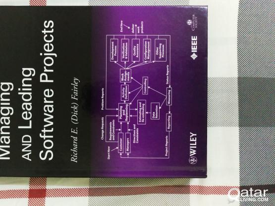 Managing and Leading Software Projects Book for Sale