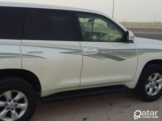 Car with Driver Available - Toyota Prado