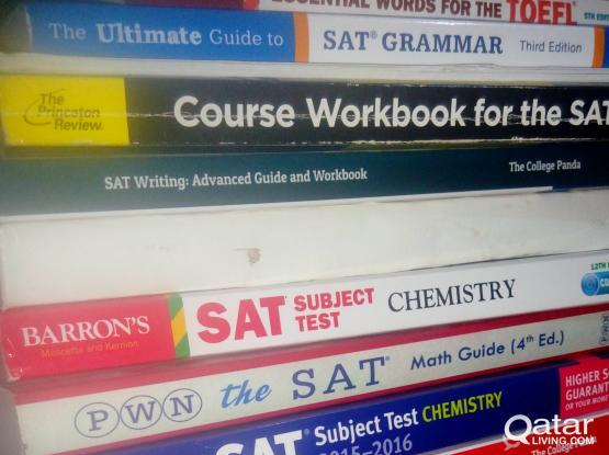 urgent sale SAT AND TOFEL BOOKS