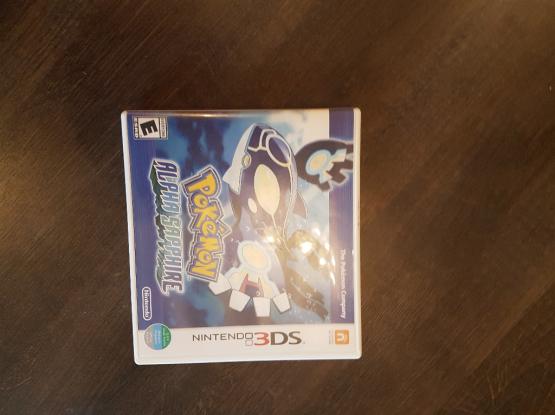 3ds game- pokemon alpha sapphire