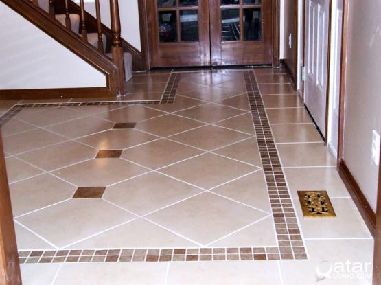 Tile, Granite & Marble Works أعمال بلاط الجرانيت والرخام