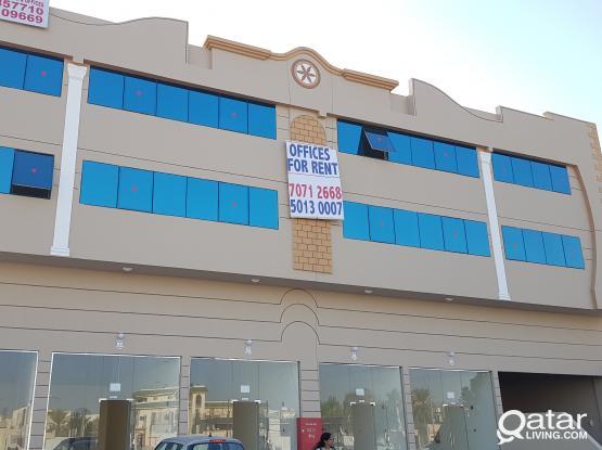 BRAND NEW OFFICE SPACE IN NUAIJA, D-RING ROAD NEAR AL EMADI FITNESS CENTER