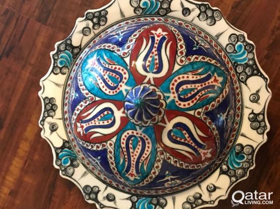 Famous Iznik Ceramic Bowl