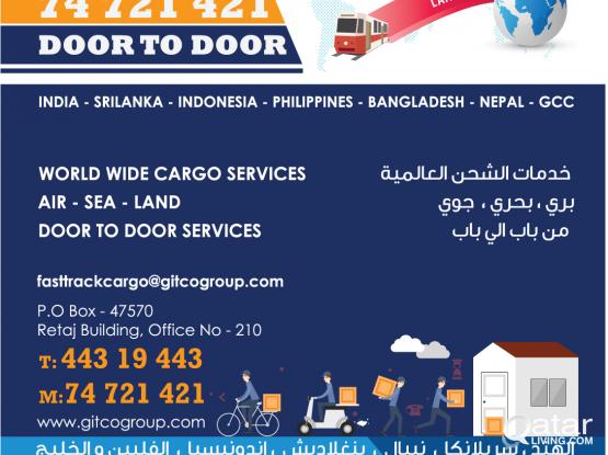 Door To Door Cargo Service......Fasttrack Qatar