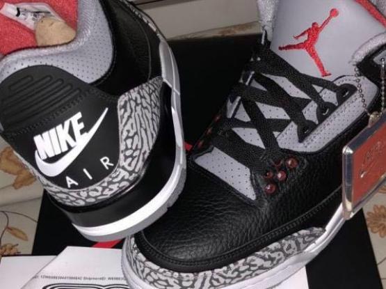 """Jordan 3 """"Black Cement"""" 2018"""