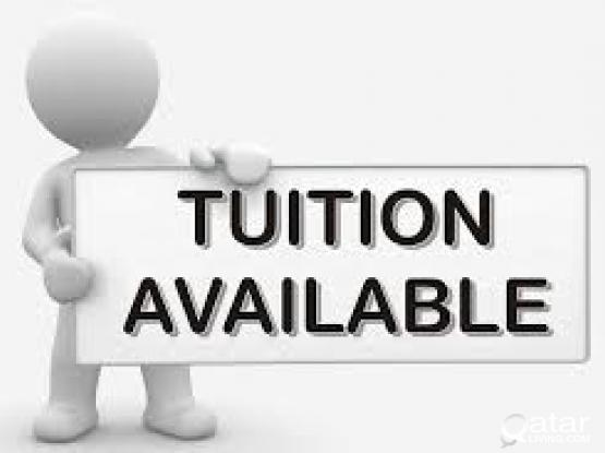 Home Tuition in AL Thumama for Grade 5 to 12 .