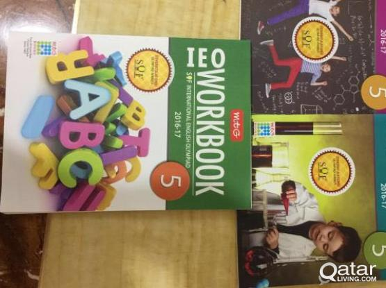 IMO IEO NSO NCO books of class 3,4,5 are available