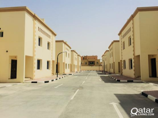 EXECUTIVE BACHELORS...BRAND NEW 6 BEDROOMS UNFURNISHED COMPOUND VILLA AT AZIZIYAH