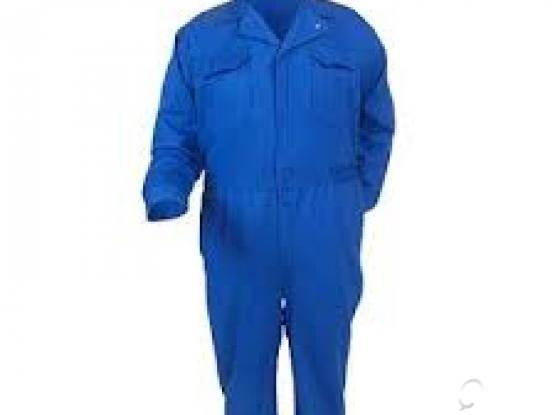 100% Cotton Coverall royl blue color Made in pakistan