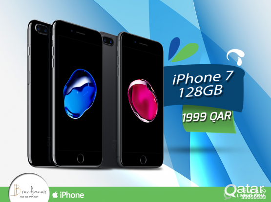 Iphone 7 128gb with 1 year warranty