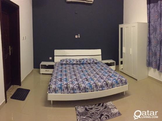 Fully furnished spacious studio near Thumama Stadium