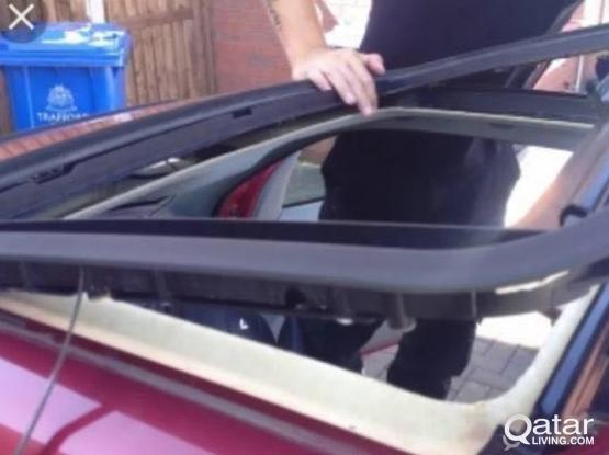 Auto sunroof repair