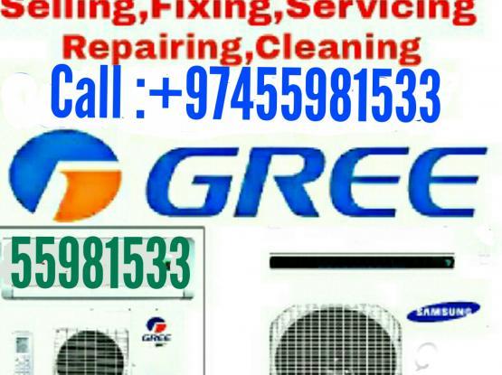 AC service, fixing, Electric, plumbing & all MAINTENANCE work.