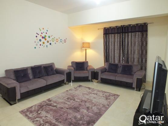 F/F One BR Flat For Rent In Lusail City