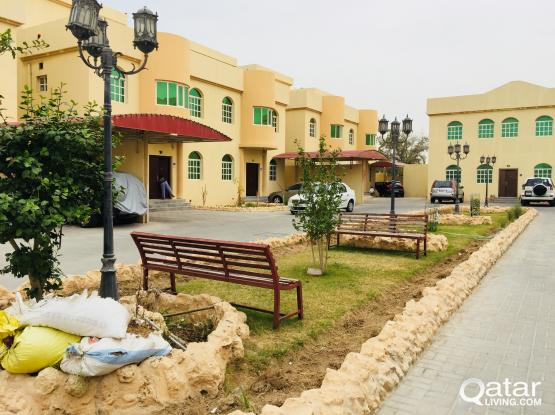 BEAUTIFUL FULLY FURNISHED 5 BEDROOM COMPOUND VILLA FOR SINGLE FAMILY IN AZIZIYA
