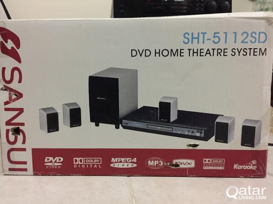 sansui home theater SHT-5112SD (japan design )power issue