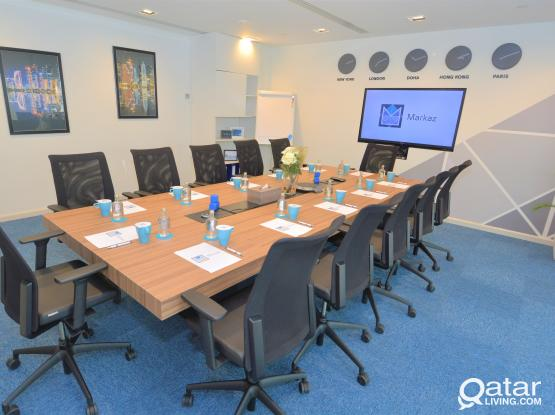 "Trade License & Fully Furnished & Serviced Offices At ""Markaz"""