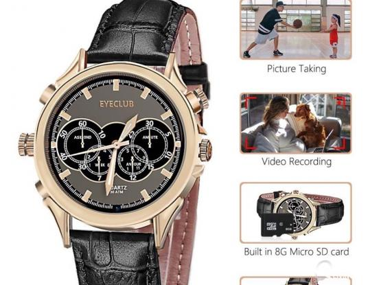 Eyeclub Hidden Camera Watch