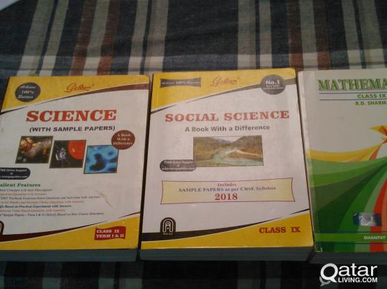 CLASS IX GUIDES CBSE (Mathematics, Science & Social Science)